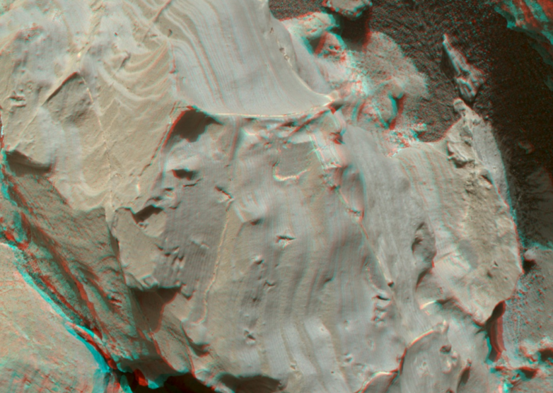 mars alien tracks