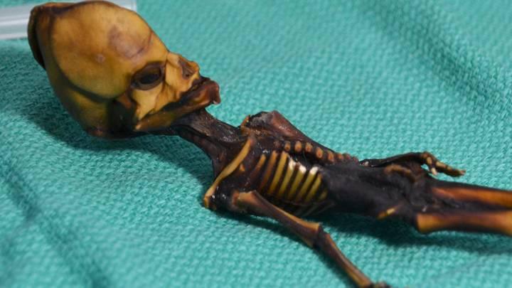 alien mummy
