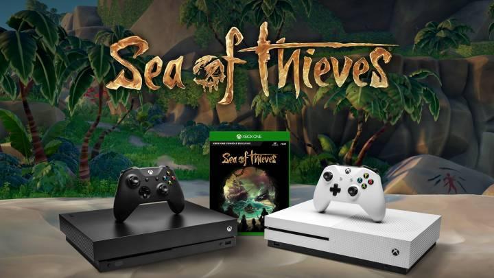 Xbox One X: Sea of Thieves free