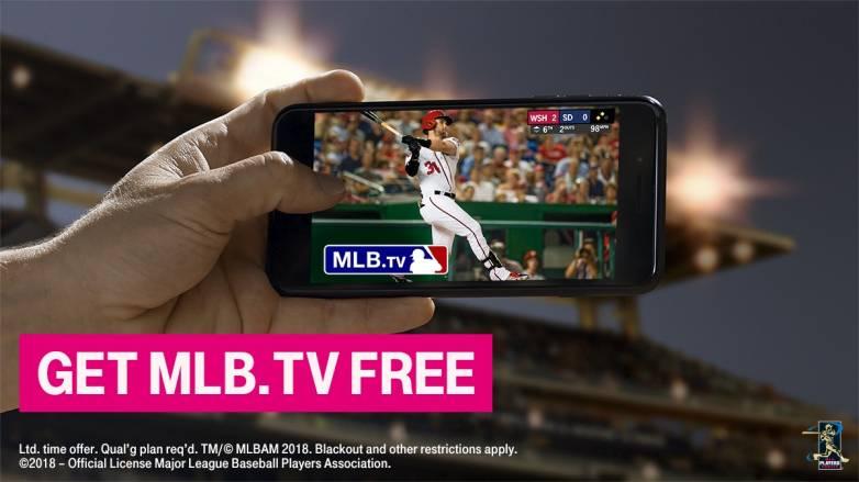 T-Mobile: Free MLB.TV subscription