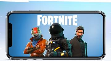 Fortnite Battle Royale iOS invite event