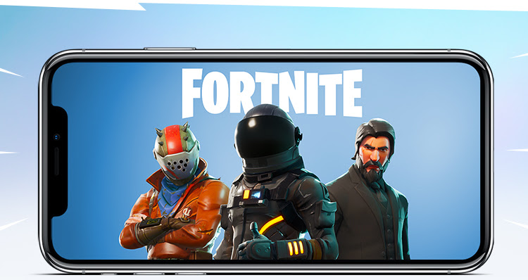 Fortnite Battle Royale iOS invite event