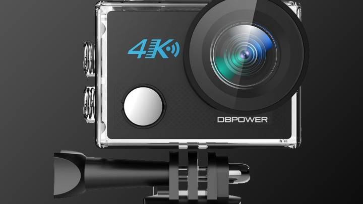 4K Action Camera With OIS