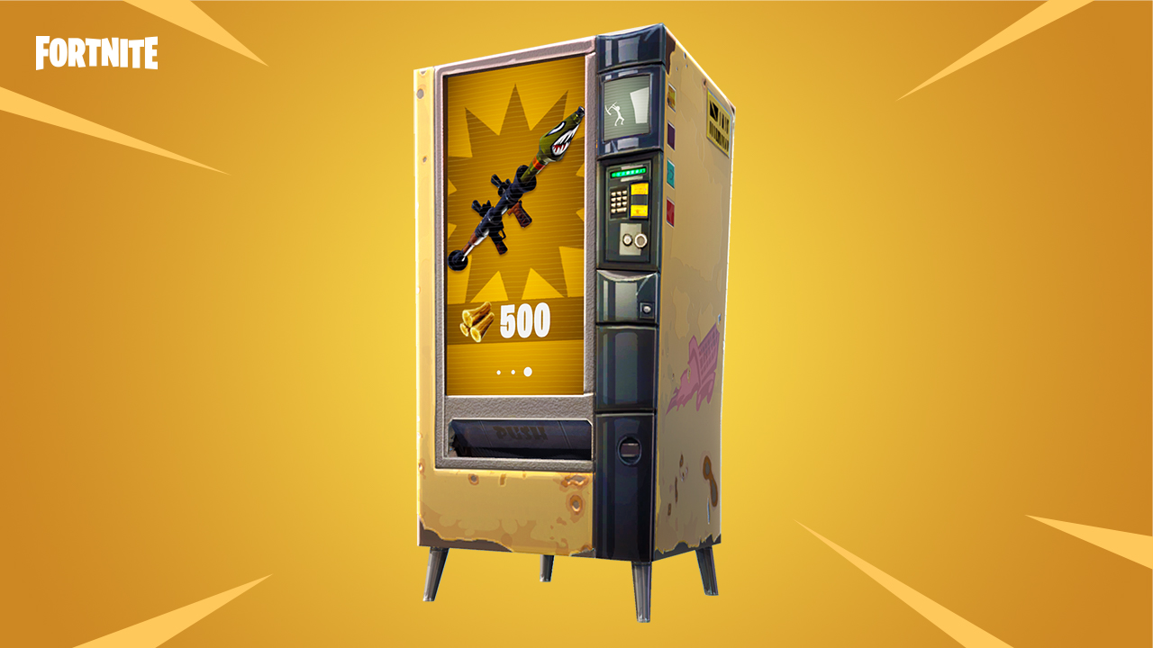'Fortnite' vending machines should help to level the ...