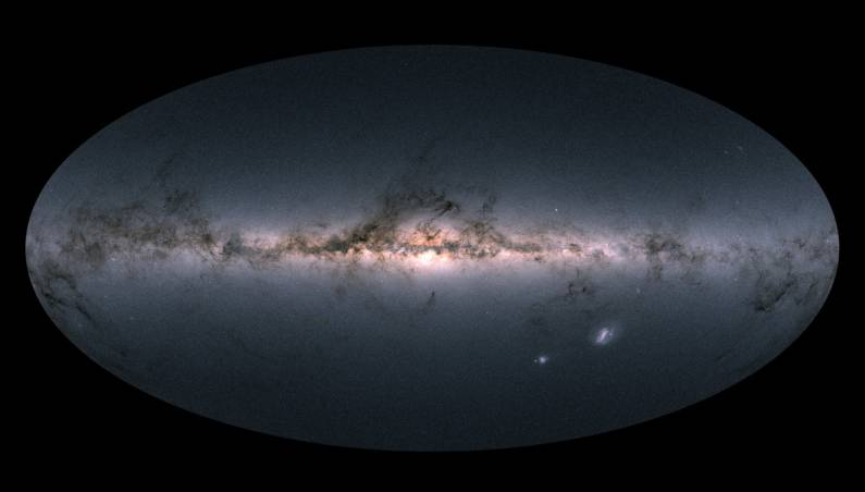 gaia galaxy map