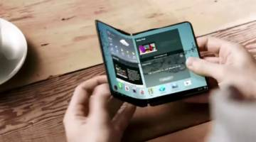 Galaxy X Foldable