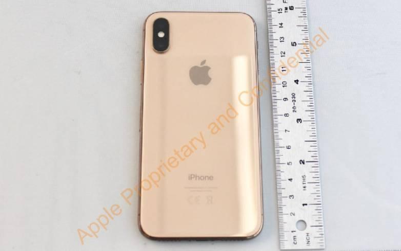 Gold iPhone X photos