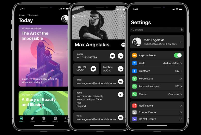 iOS 12 concept video