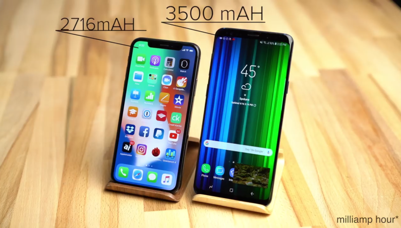 iPhone X vs Galaxy S9 Plus