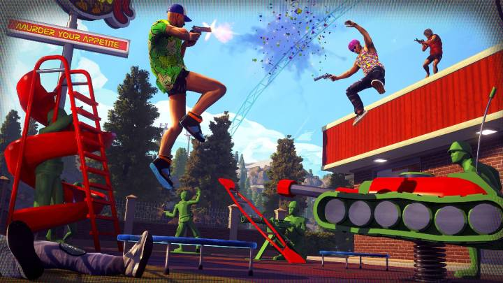 Radical Heights battle royale game