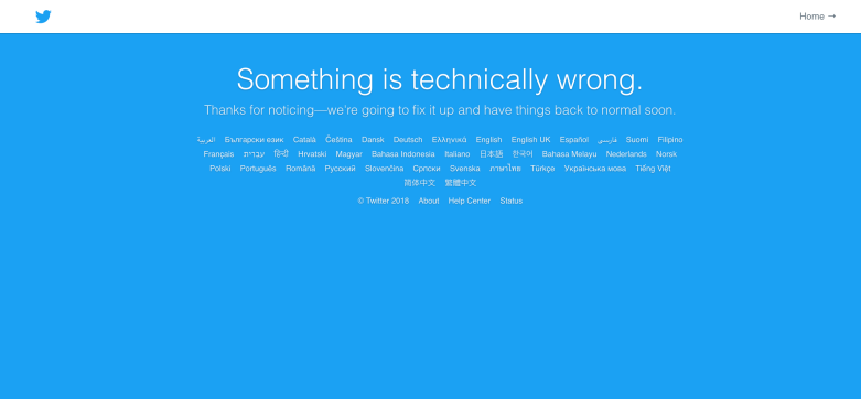 Twitter.com down