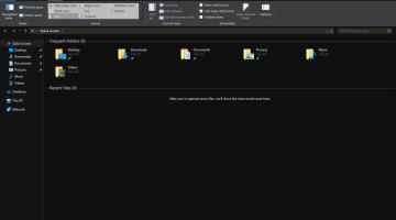Windows 10 Dark Mode, File Explorer, how to