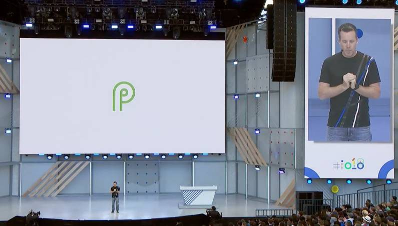 Android P Home Button Gestures