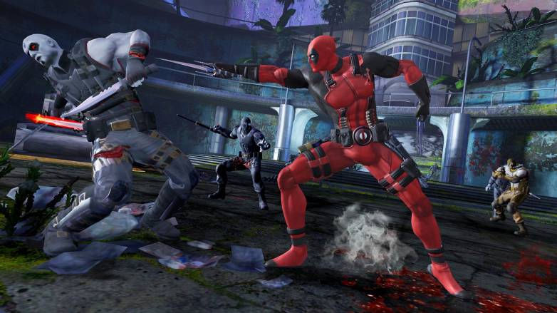 Ryan Reynolds plays Deadpool video game