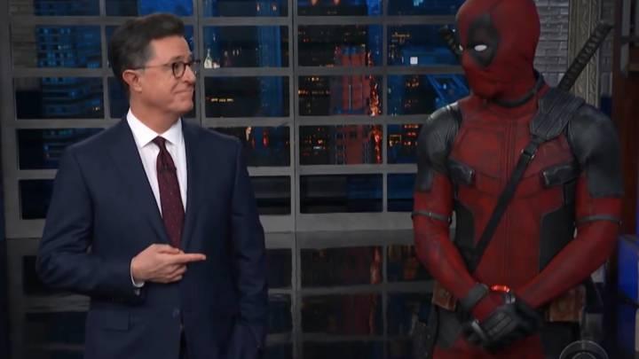 Deadpool vs. Stephen Colbert