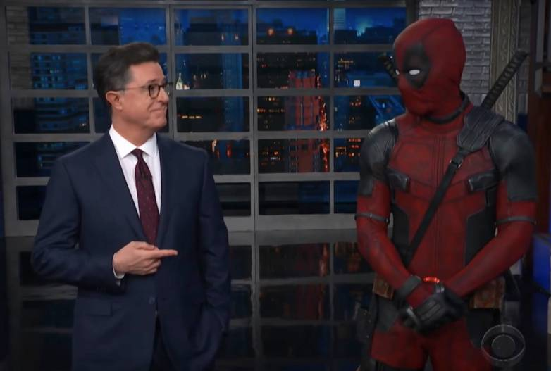 Deadpool vs. Stephen Colbert