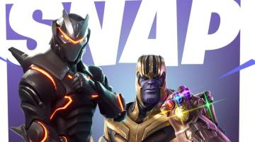 Fortnite-Avengers Infinity War crossover event