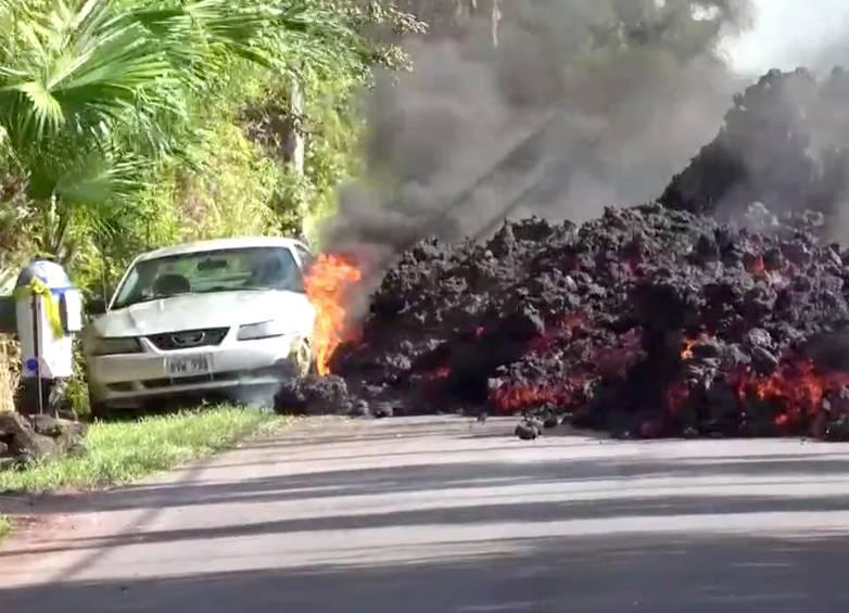 lava car mustang