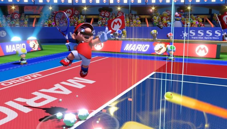 Mario Tennis Aces free demo