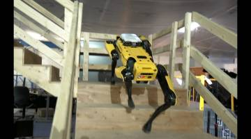 Boston Dynamics atlas robot spotmini dog videos