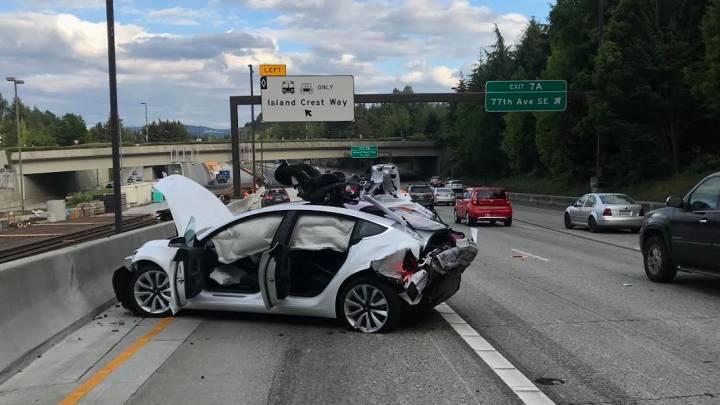 Model 3 Crash