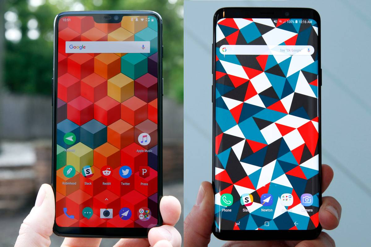 OnePlus 6 Vs Galaxy S9