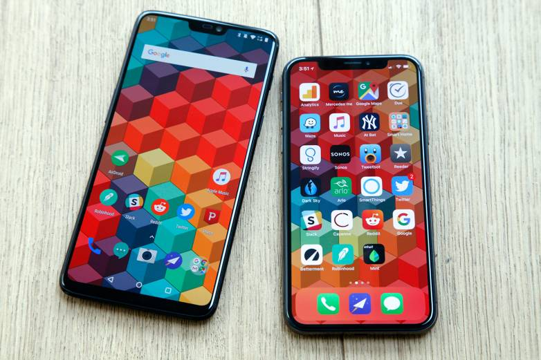 iPhone vs Android 2018 market share
