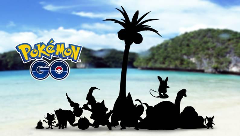 Pokemon Go: Alolan forms