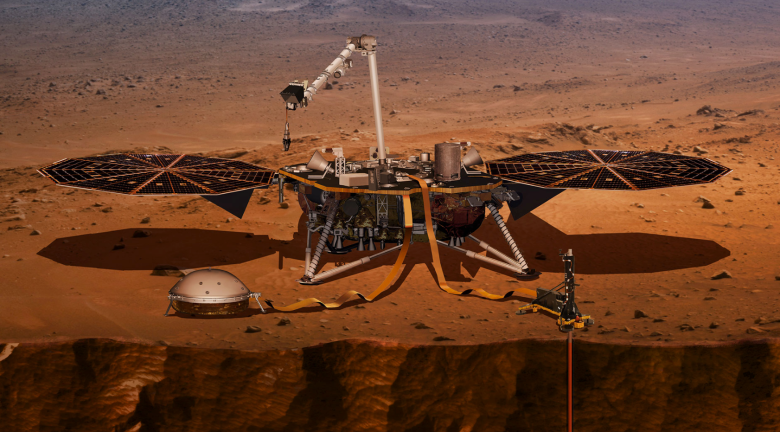 mars insight briefing