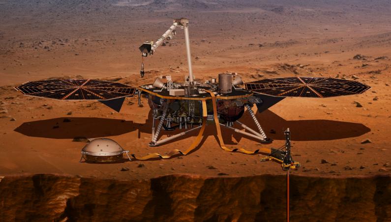 mars insight briefing