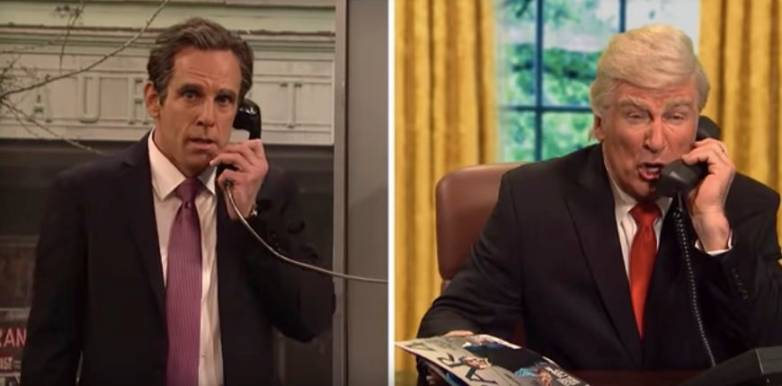 SNL Cold Open Stormy Daniels