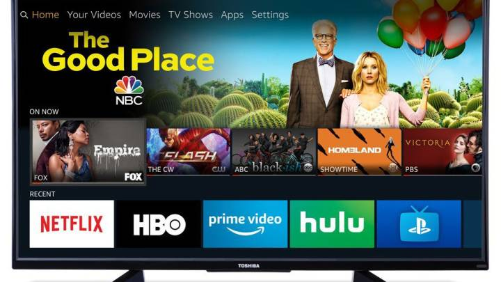4K TV With Fire TV Built In