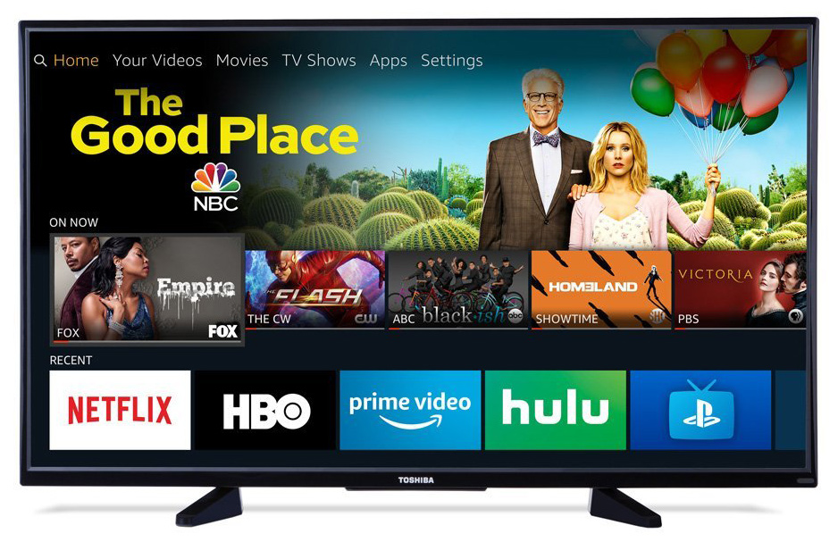 4K TV With Fire TV