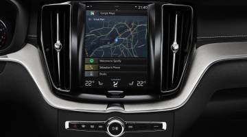 Volvo Android integration, Google Maps