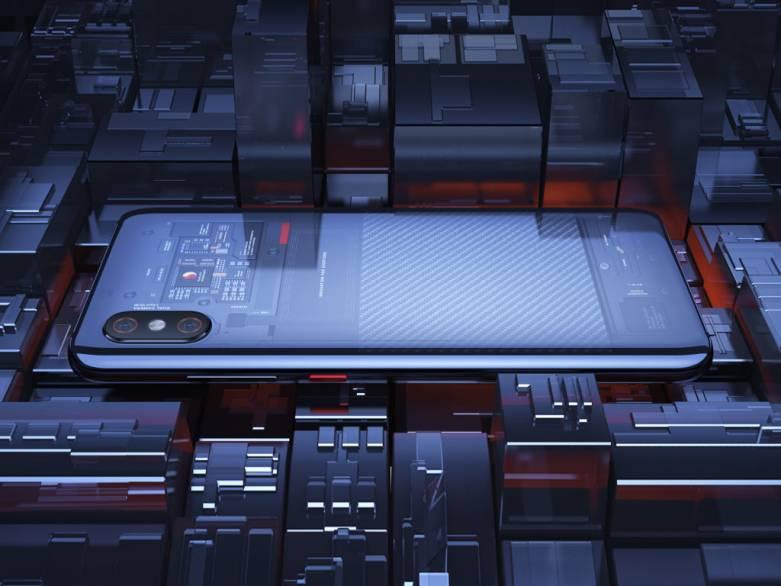 Xiaomi Mi 8 Transparent
