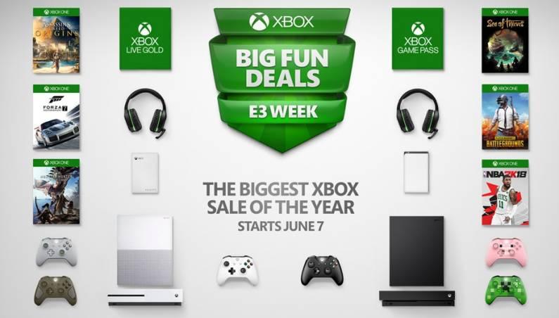 Xbox One X on sale