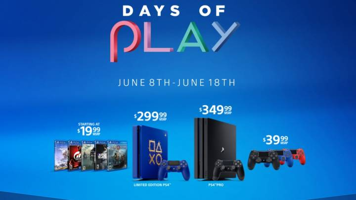 PlayStation Days of Play 2018