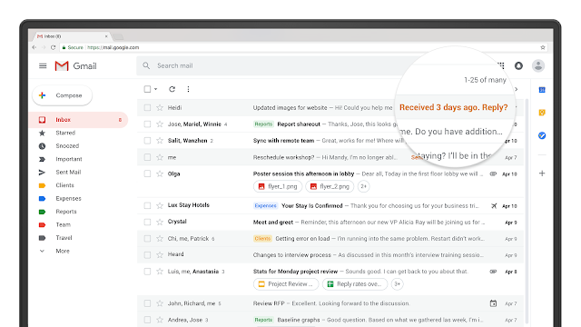 Gmail redesign release date