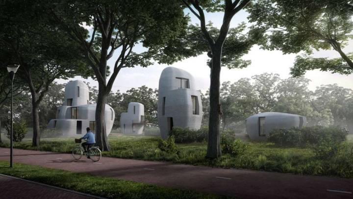 3-D printed house concrete cost