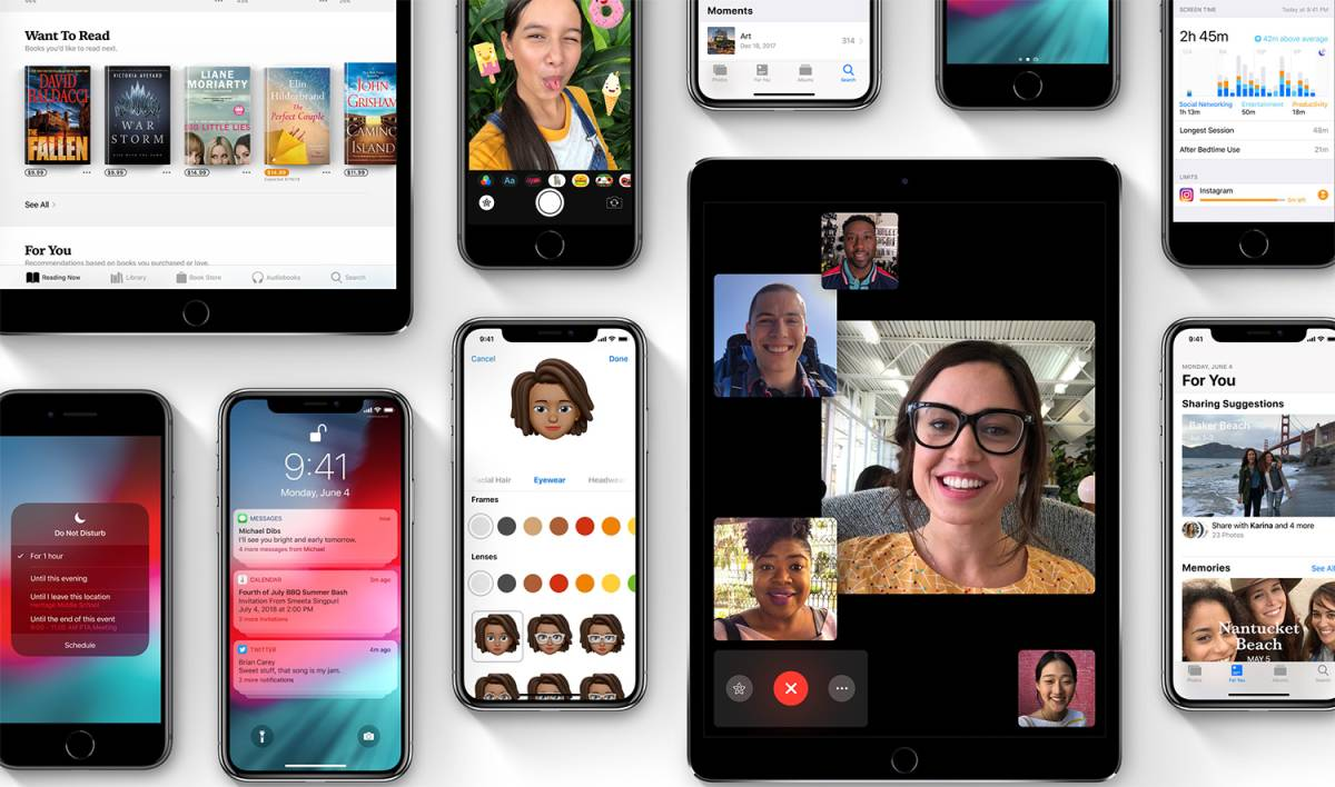 iOS 12 Public Beta Download Features