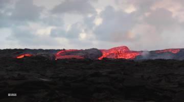 Hawaii volcano eruption lava video