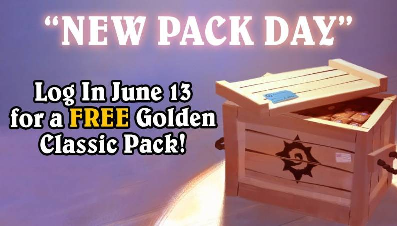 Hearthstone: Free Golden Classic Pack