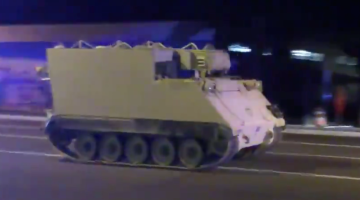 armored police chase