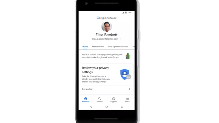 Google Account Hub: