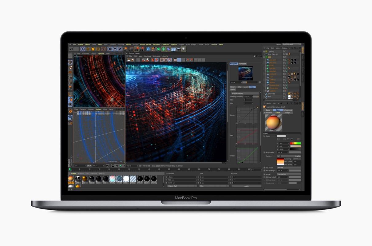 New MacBook Pro 2018 problems, storage