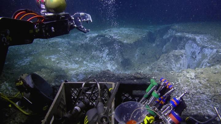 ocean meteorite