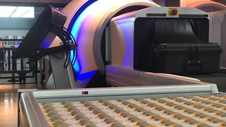 TSA bag scanner technology