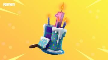 Fortnite birthday event