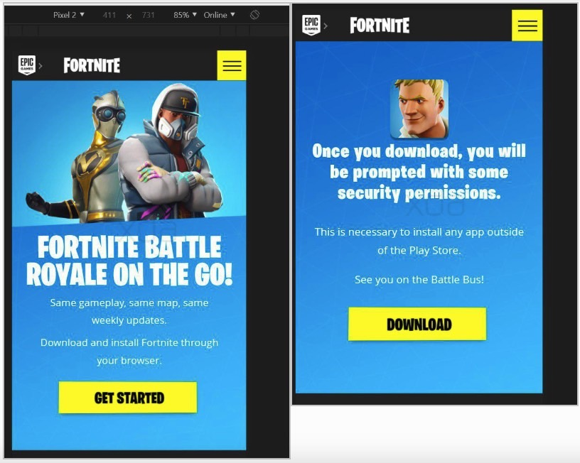 Fortnite Not Minimizing Forcing Gamers To Download Fortnite From Outside The Google Play Store Is Greedy And Wrong Bgr