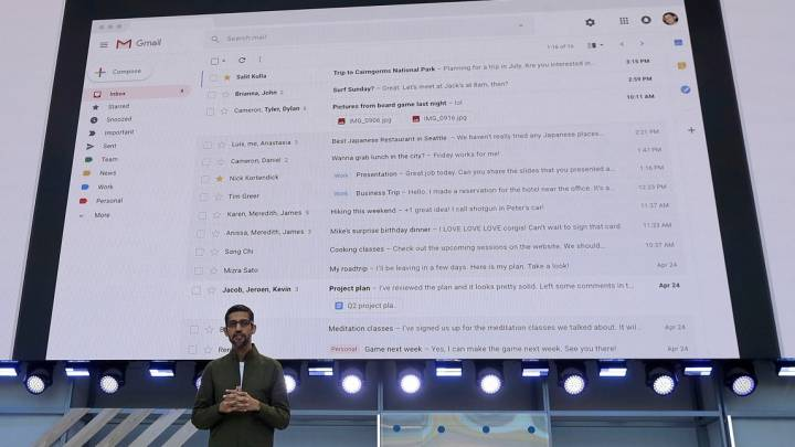 Gmail User Privacy